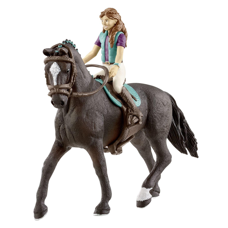 Schleich Horse Club Mädchen mit Hannoveraner Wallach