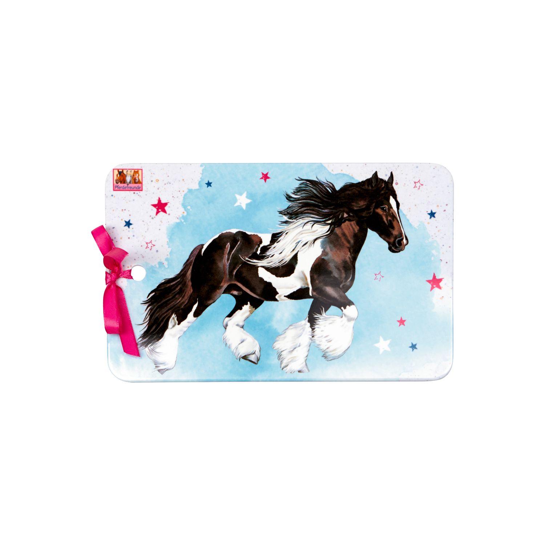 Melamin Brettchen Pferdefreunde