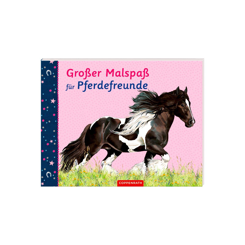 Die Spiegelburg Großer Malspaß für Pferdefreunde Malbuch