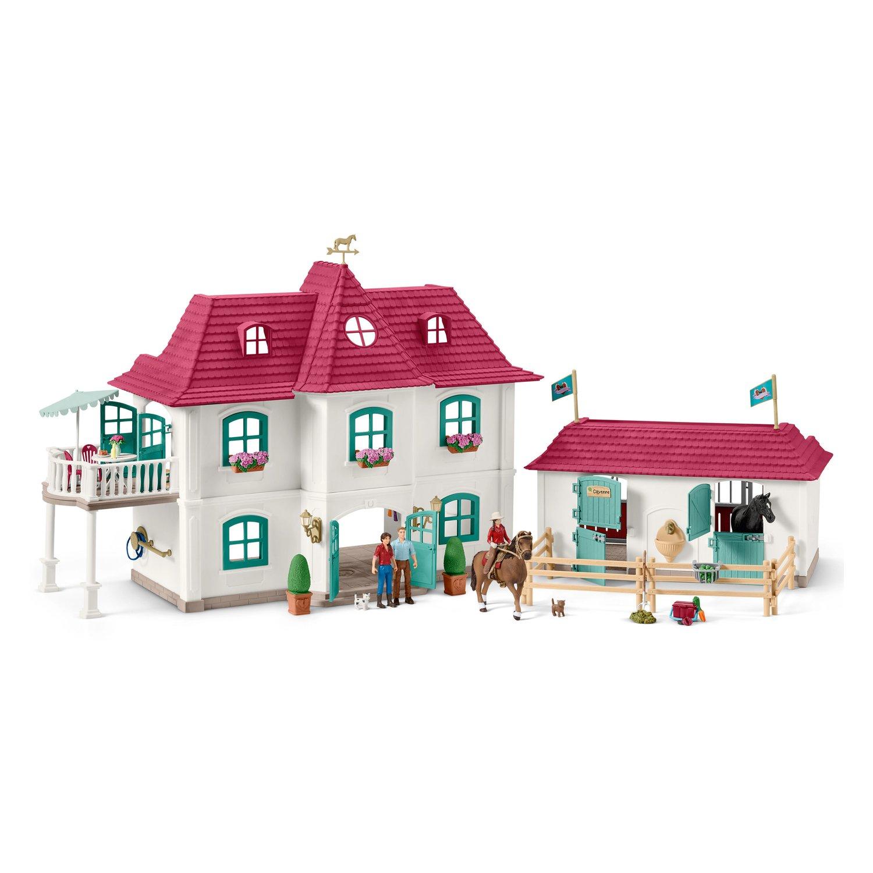 Schleich Großer Pferdehof mit Wohnhaus und Stall