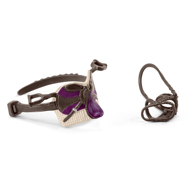 schleich horse club sattel und zaumzeug reiter loesdau passion pferdesport. Black Bedroom Furniture Sets. Home Design Ideas