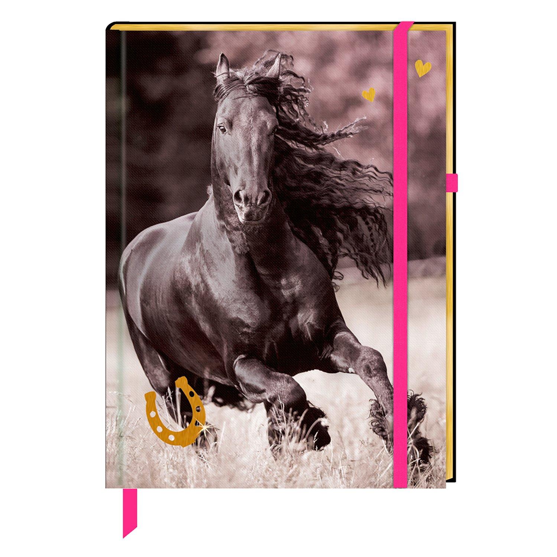 Die Spiegelburg Notizbuch I love Horses