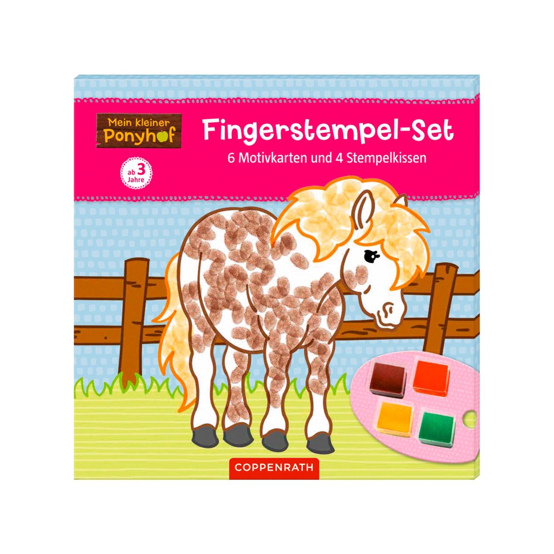 COPPENRATH Mein kleiner Ponyhof Fingerstempel-Set
