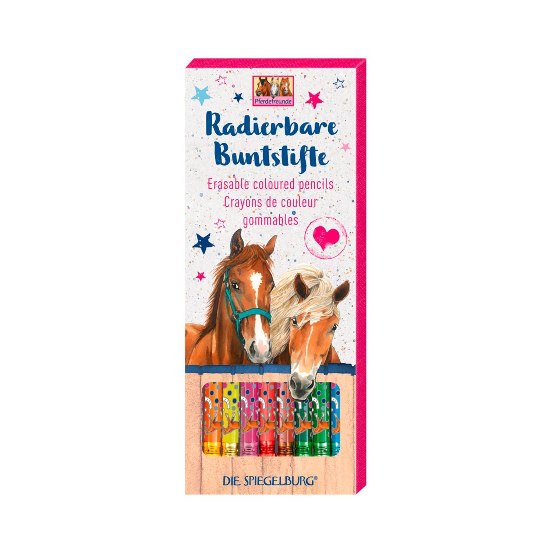 Die Spiegelburg Pferdefreunde Buntstifte Basteln Malen Loesdau
