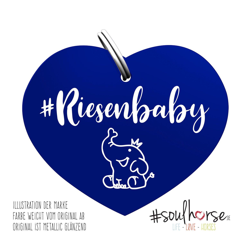 #Soulhorse Anhänger blau   Riesenbaby