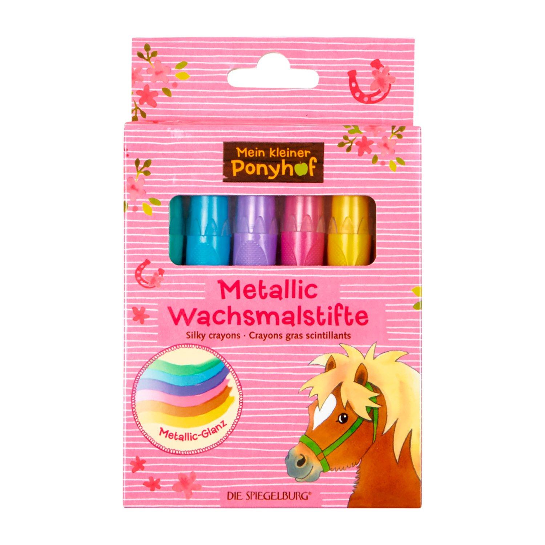 Metallic Wachsmalstifte