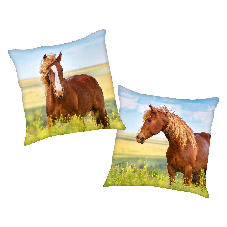 Dekokissen Pferd