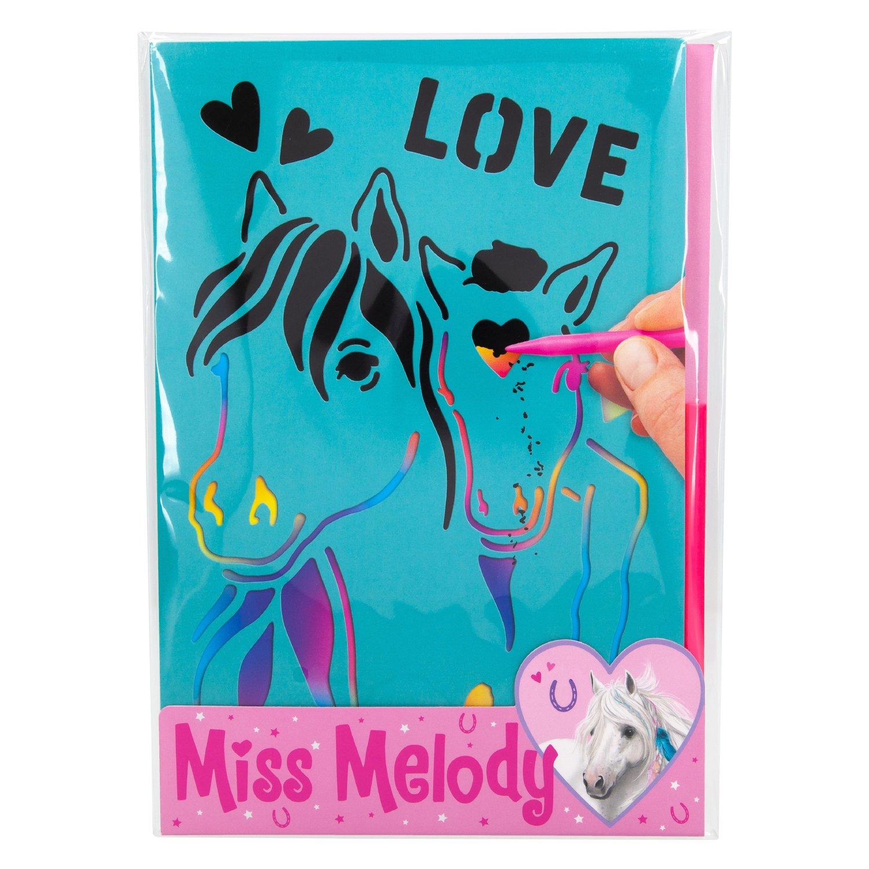 Miss Melody Rubbelbilder