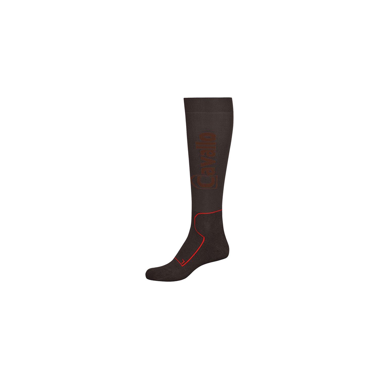 Cavallo Funktions-Reitsocken graphite/darkmustang | 32/33