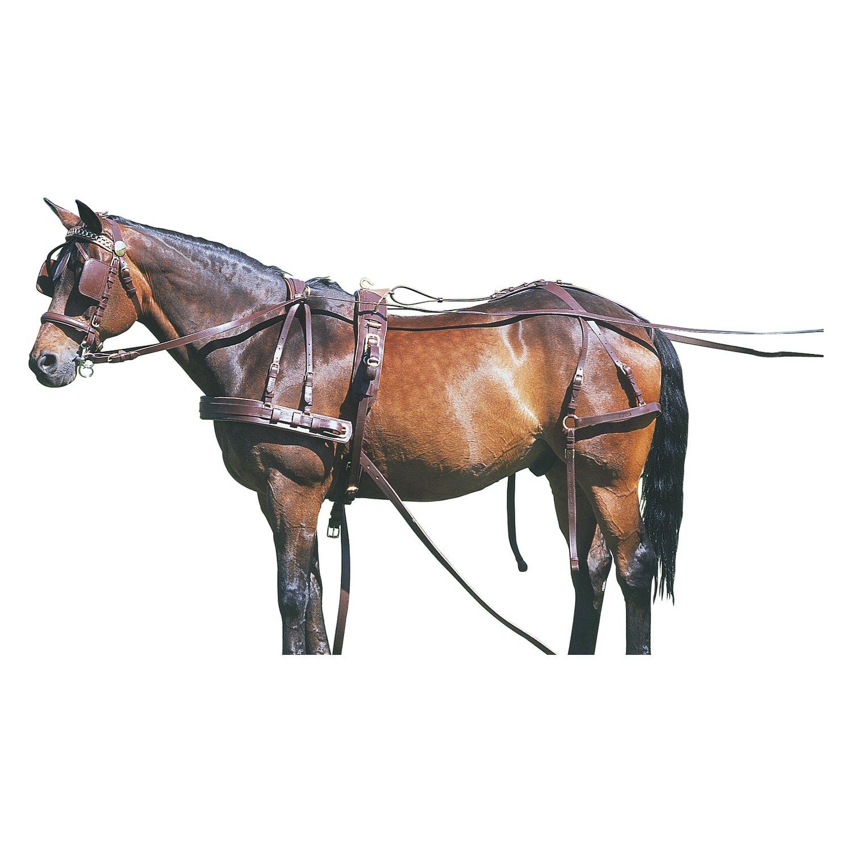 Einspänner-Brustblattgeschirr, für Ponys bis 120 cm