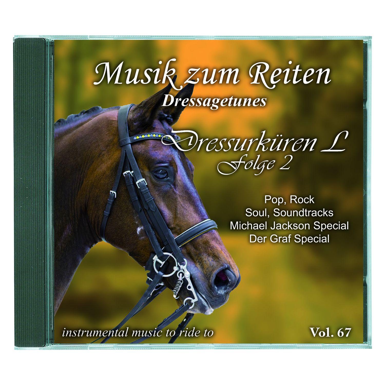 Musik zum Reiten - Dressagetunes Vol. 67 CD