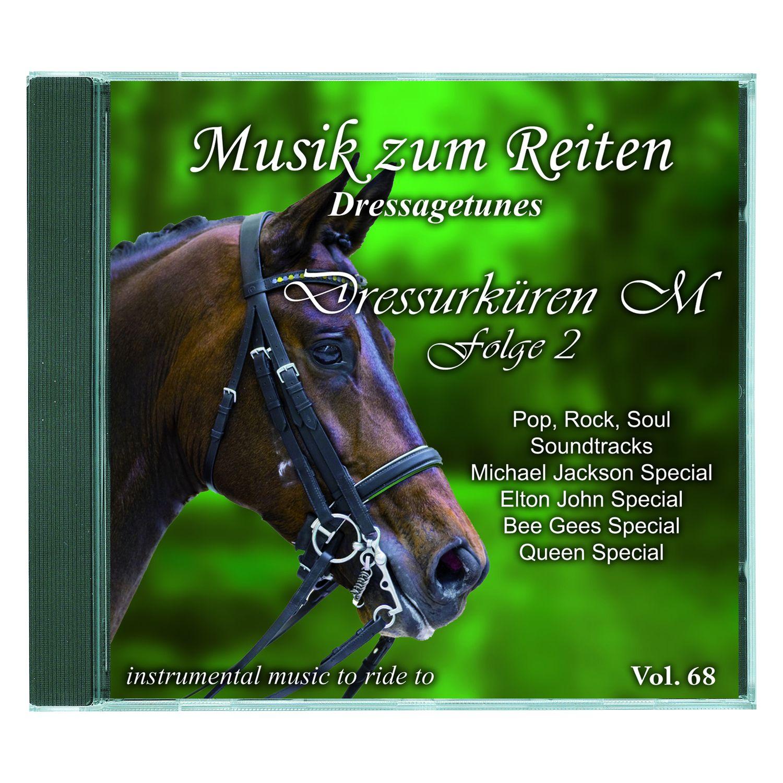 Musik zum Reiten - Dressagetunes Vol. 68 CD