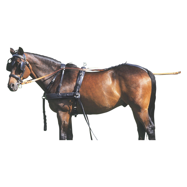 Zweispänner-Brustblattgeschirr, für Ponys bis 120 cm