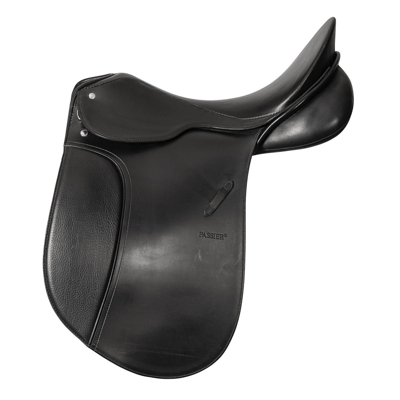 PASSIER Dressursattel Compact, B-Ware schwarz | 17,5 - 18