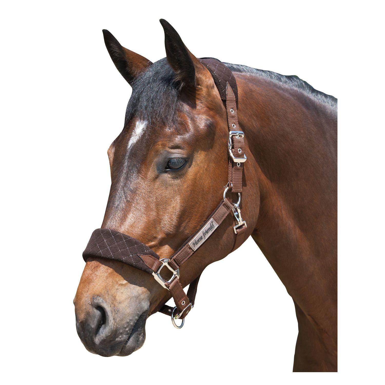 Horse-friends Fleecehalfter San Diego choco | Kaltblut