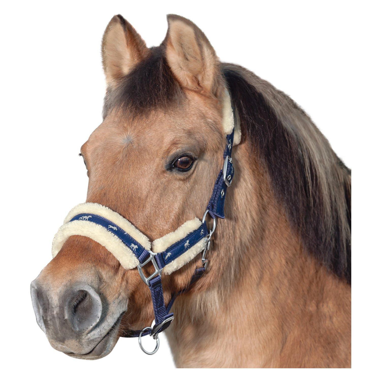 Horse-friends Halfter Vigo mit Kunstfell