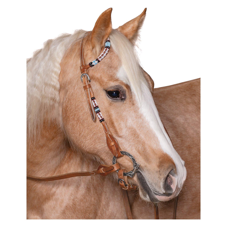 L-pro West Einohrkopfstück mit bunten Perlen