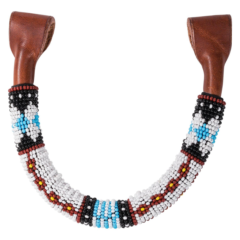 L-pro West Einohrstück mit bunten Perlen Einheitsgröße