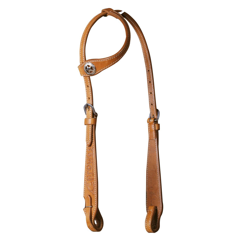 Einohrkopfstück, L-pro West natur | Pony