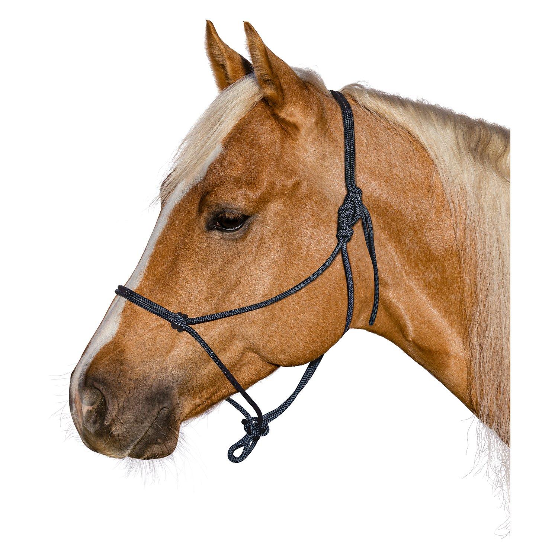 BROCKAMP Knotenhalfter Horse-Man-Halfter marineblau   Pony