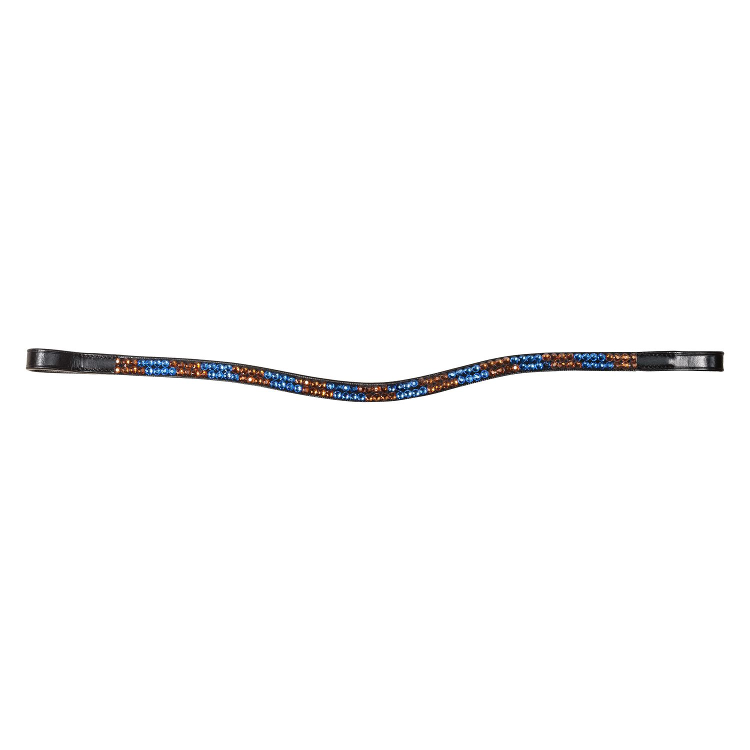 Stirnband Twocolored sapphire/smoked topaz | WB