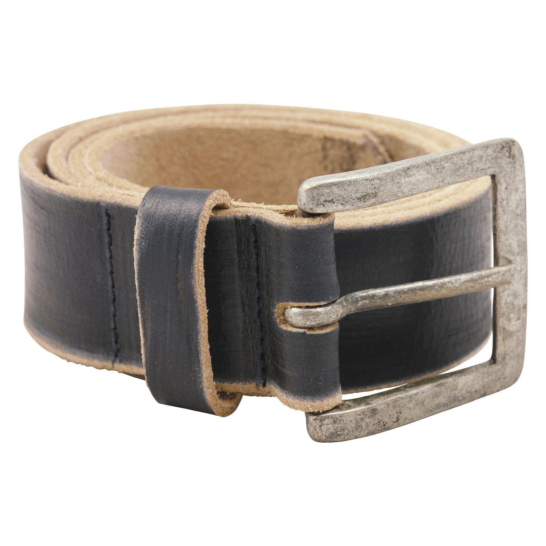L-pro West Gürtel aus Leder schwarz | 100 cm
