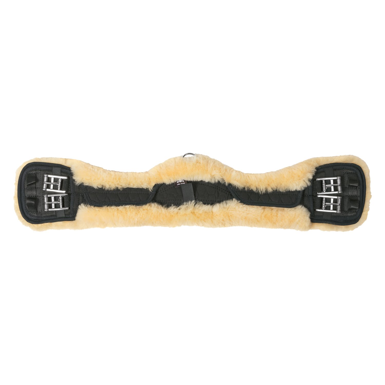 MATTES Asymmetrischer Kurzgurt schwarz/natur | 65 cm
