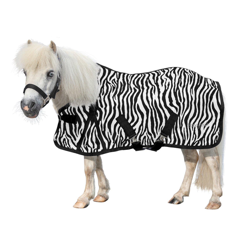 Horse-friends Fliegendecke Piccolino zebra | 75 cm (XS)