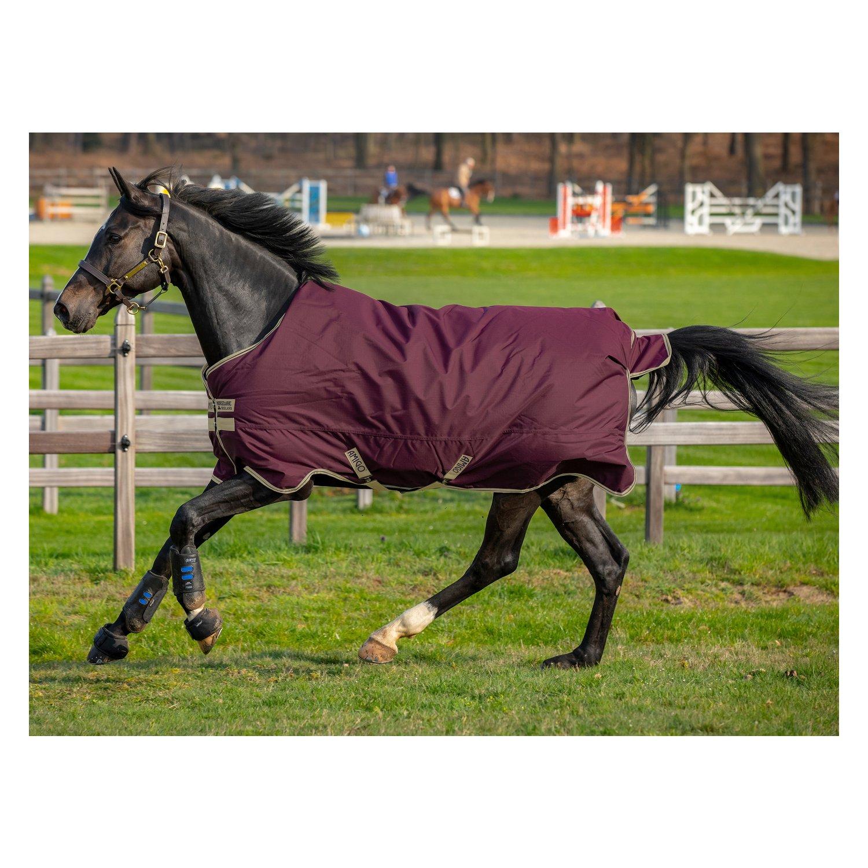Horseware Outdoordecke AMIGO Hero Ripstop 100 g feige/navy & tan | 140 cm