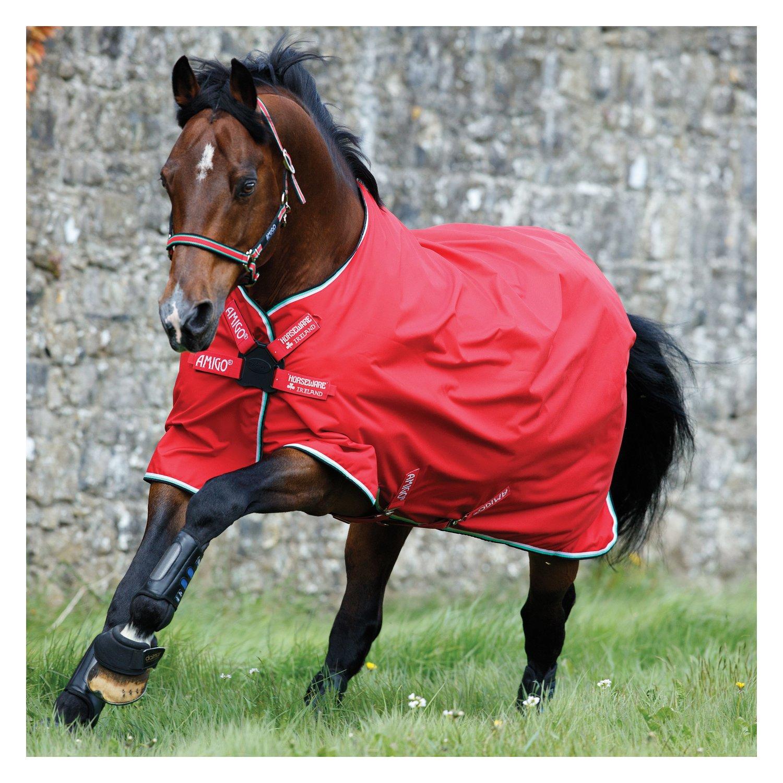 Horseware Outdoordecke AMIGO Hero ACY Disc Lite red/white/green & black   155 cm