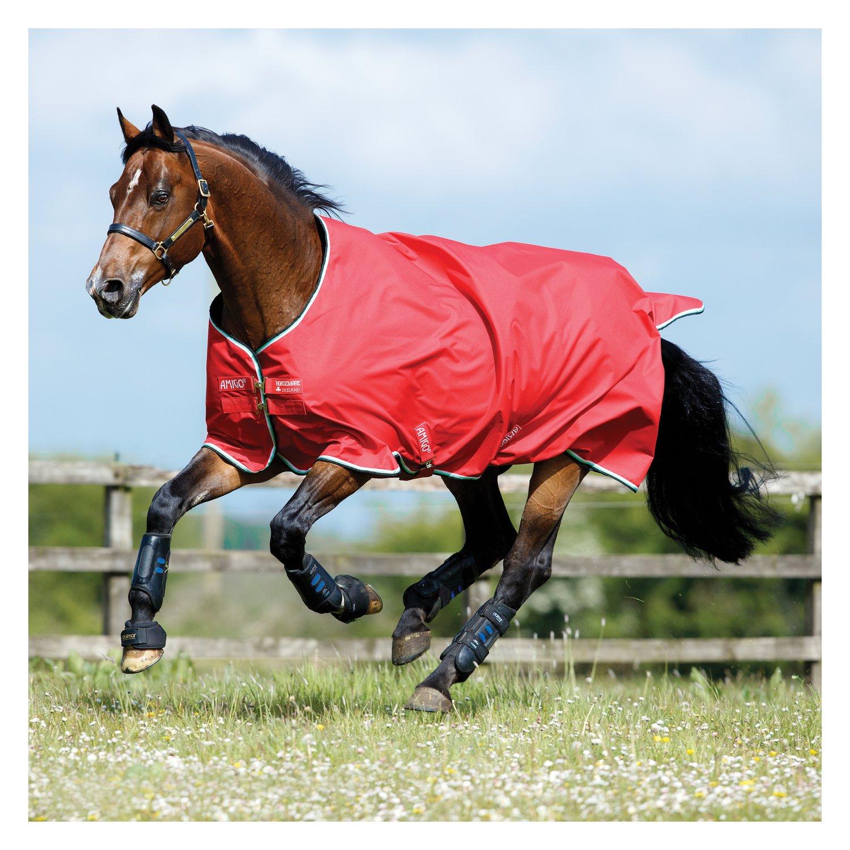 Horseware Outdoordecke AMIGO Hero ACY Medium red/white/green & black | 130 cm