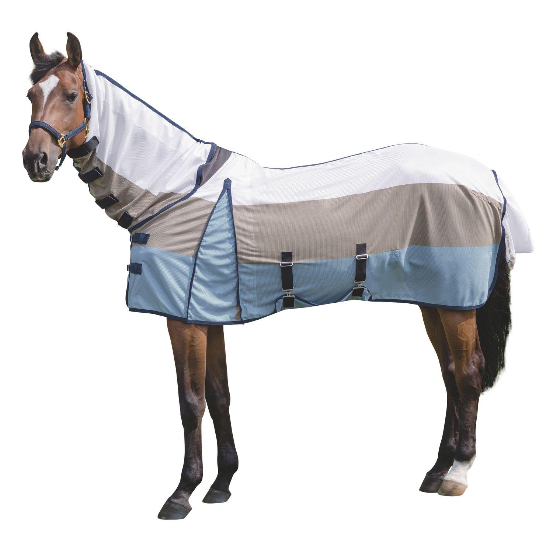Horse-friends Fliegendecke mit elastischem Einsatz am Widerrist