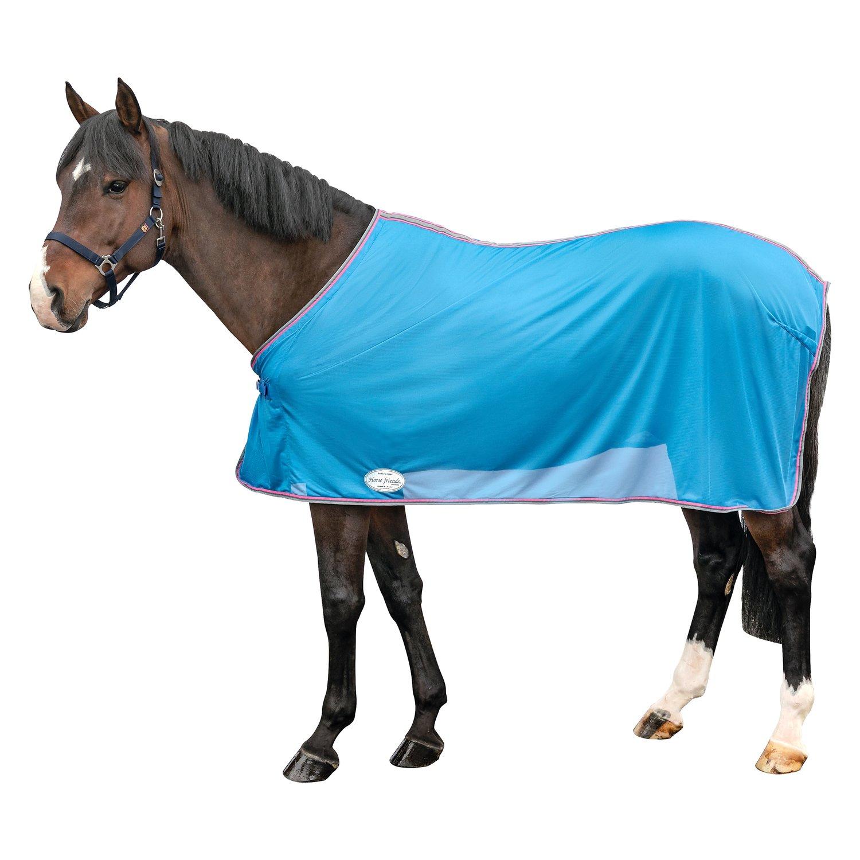 Horse-friends Fliegendecke french blue | 135 cm