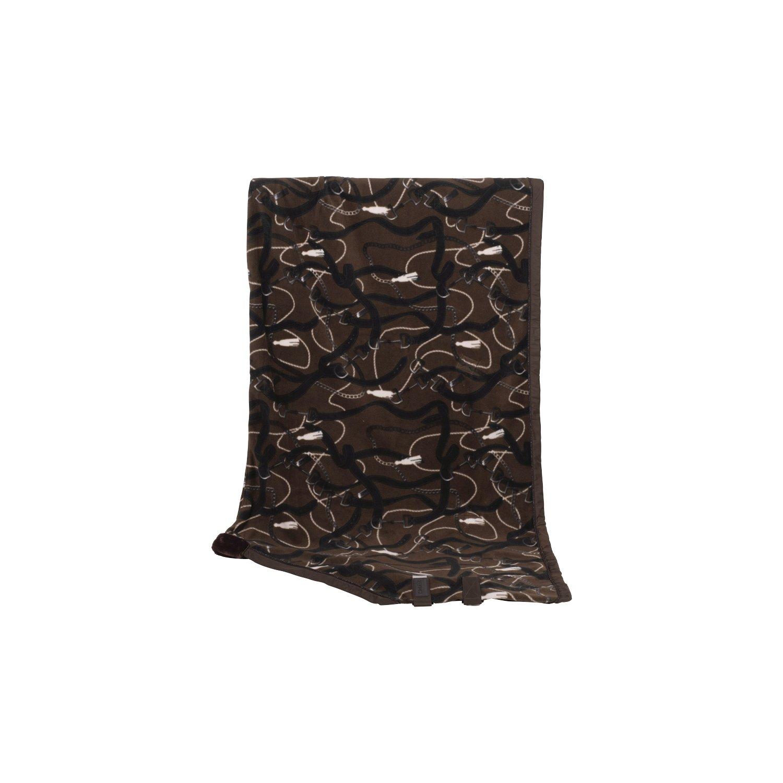 ESKADRON Abschwitzdecke Fleece Dessin Platinum havanabrown | 135 cm