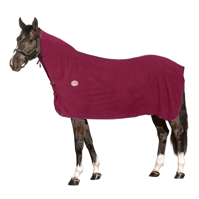 Horse-friends Transport- und Abschwitzdecke Polarfleece mit Halsteil