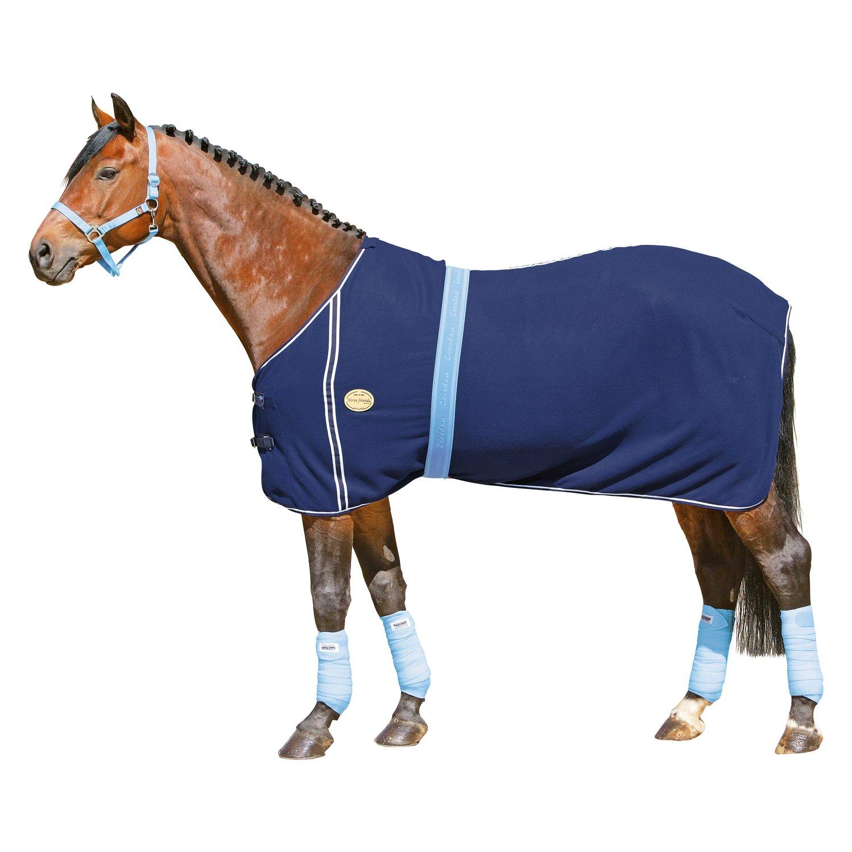 Horse-friends Abschwitzdecke marine | 125 cm