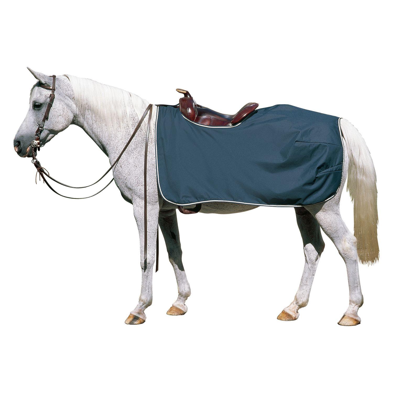 Horse-friends Regen-Ausreitdecke, mit Sattelausschnitt
