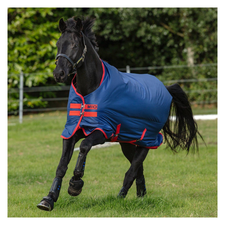 Horseware Outdoordecke MIO Turnout Lite darkblue/darkblue & red | 145 cm