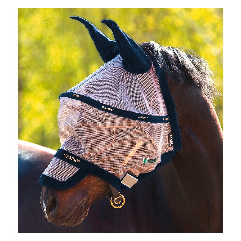Horseware Fliegenmaske RAMBO Fly Mask Plus