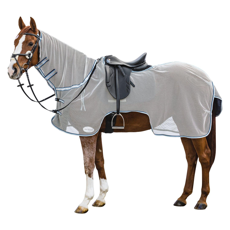 Horse-friends Fliegen-Ausreitdecke lightgrey | 155 cm