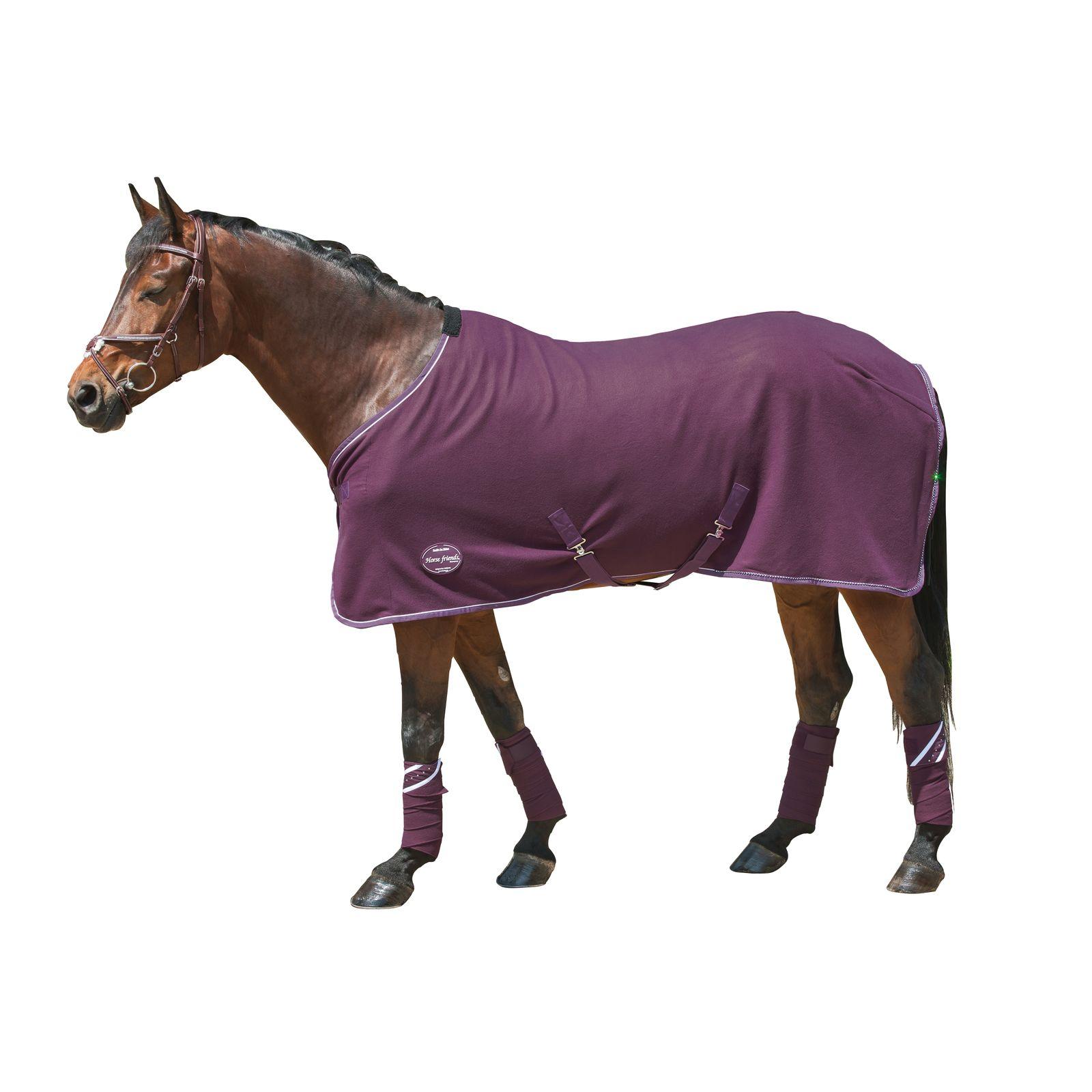 Horse-friends Fleece- und Abschwitzdecke Diamonds