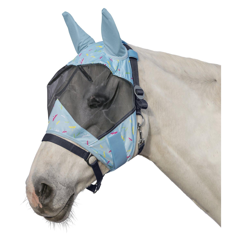 Horse-friends Fliegenmaske Canberra lightblue | Shetty