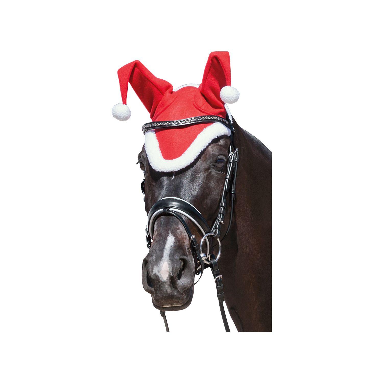 Pferdemütze X-Mas rot | WB