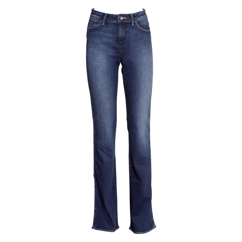 Wrangler Jeans Tina Scuffed Indigo