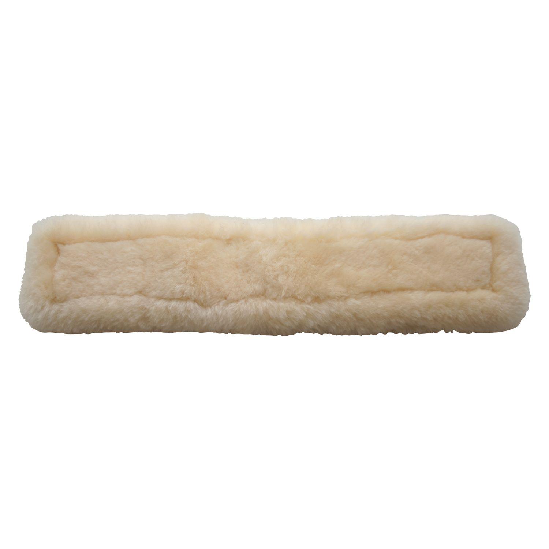 Echt-Lammfell-Sattelgurtpad
