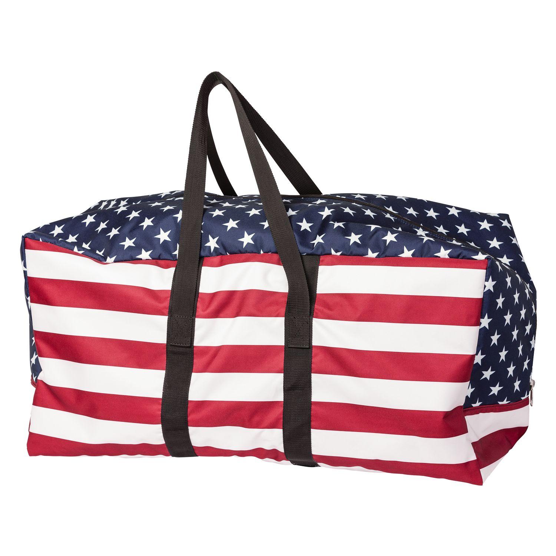 L-pro West Tasche USA rot/blau/weiss