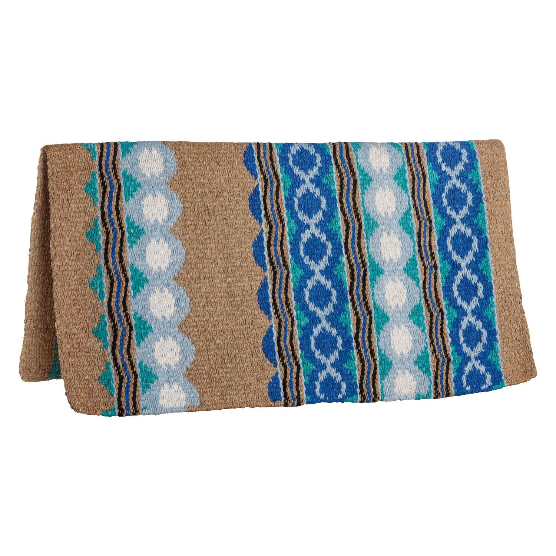 L-pro West Western-Blanket Tacoma braun/blau