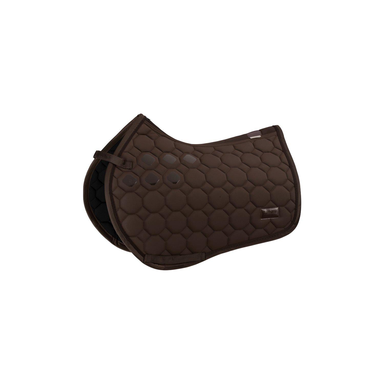 ESKADRON Schabracke Softshell Platinum havanabrown | Warmblut/Dressur