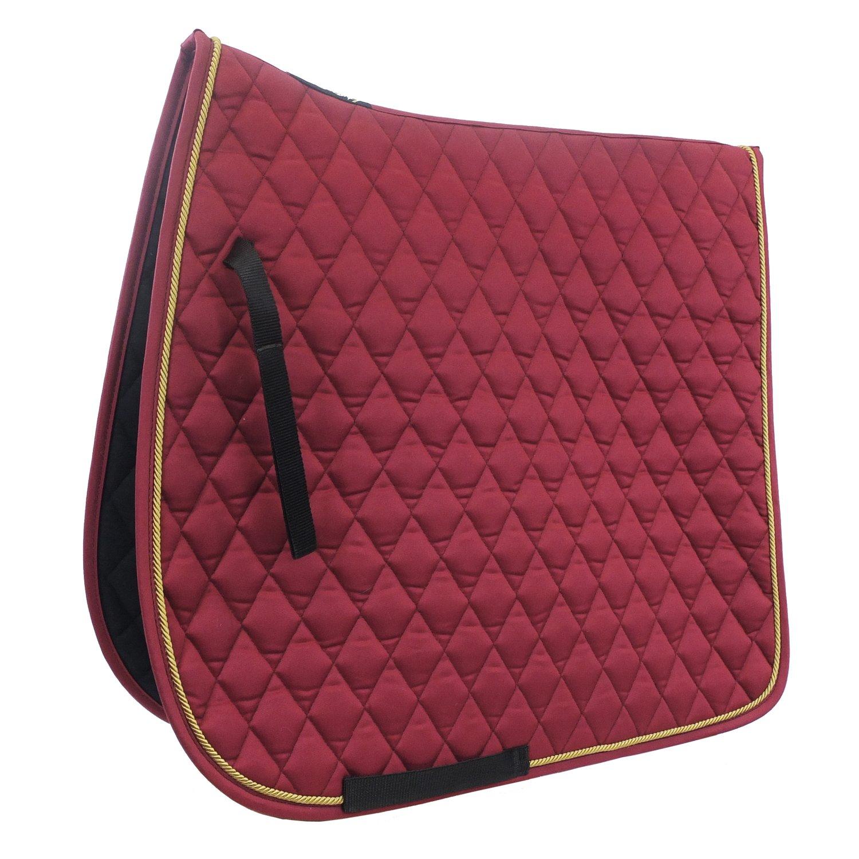 EQuest Schabracke EQ Globe Cotton Diamant bordeaux   Pony/Dressur