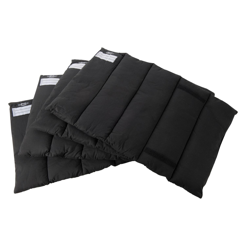 ESKADRON Bandagierunterlagen Profi Set schwarz
